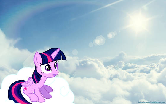 14) Twilight Sparkle - On Cloud by TheLuminousNight