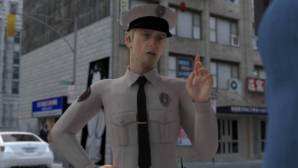 Deputy Frank Cohern returns by sturkwurk