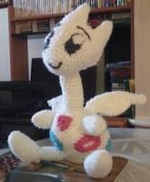 Crochet Pokemon Togetic Plush by HolyCrocKnit
