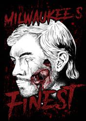 Jeffrey Dahmer | Dark Malice Apparel by DaedalvsDesign