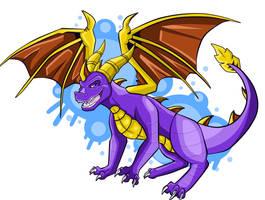 purple legend by werespyro