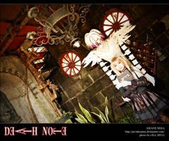 DN: 2nd kira and Rem by jaRoukaSama
