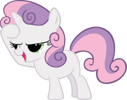 Vector 06} Sweetie Belle [15O] by pixiepea