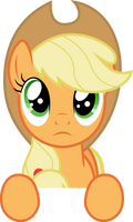 Vector 12} Applejack looking at the stars #2 by pixiepea