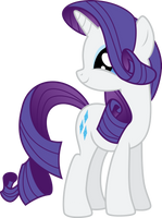 Vector 26} Rarity being Adorable by pixiepea