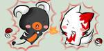 chibi pokemon battle by xnyumix
