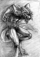 It is a werewolf. by Volchiha