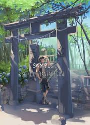 Shinoda Yuki- Commission by SE-NE