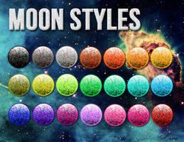 Moon Styles by LexiVonEerie