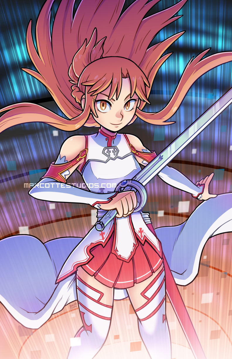 Asuna Commission By Marcotte