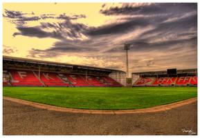Fredrikstad Fotball stadium by rabbiten