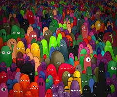 monsters by Ckirden
