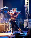 Lindsey Stirling at NovaAria by Sandman-AC