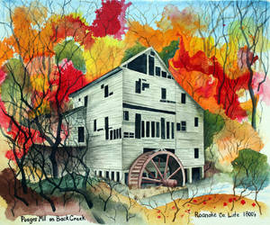 Poages Mill by cornproduct