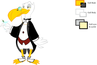 Gull Tux Colour by sepfeiffer