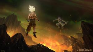 Dragon Ball Goku vs Frieza by Rikud0k0