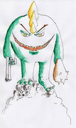 Green Monster by Giro-Noden