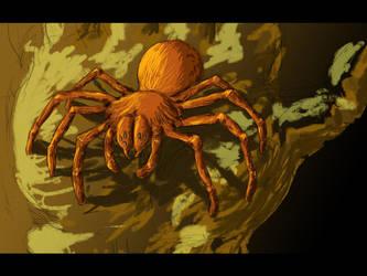 Dreamy spider by Giro-Noden