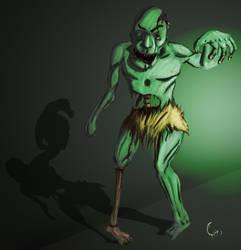 Zombie for Deaad' Capie by Giro-Noden