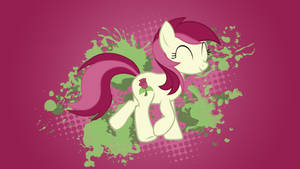 Roseluck Wallpaper by 30ColoredOwl
