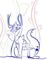 Dani The Litle Dragon 1 by MonsterArts4000