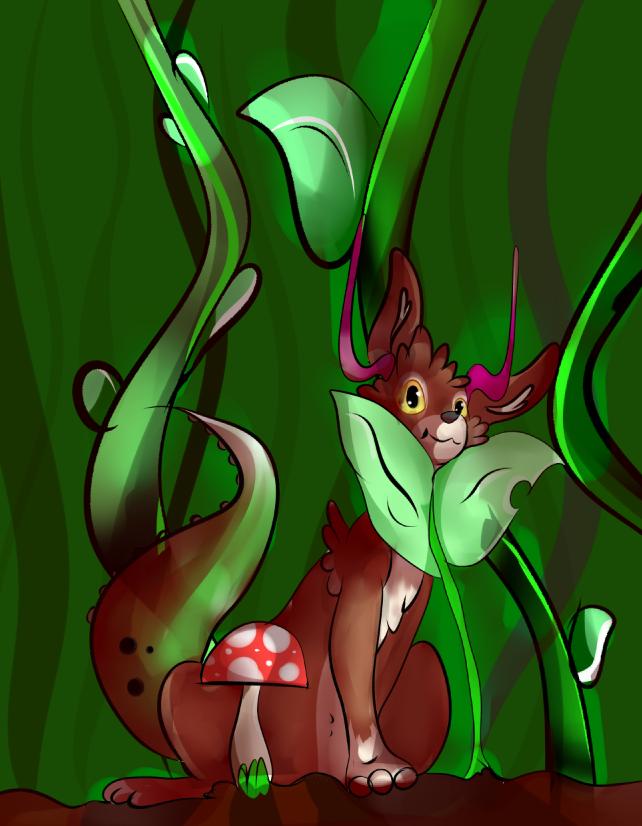 Dani The Litle Dragon by MonsterArts4000