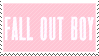 pink fall out boy stamp by highyenas