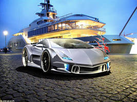 Lamborghini Gallardo by REDZ166