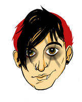 MCR - Frankie cartoon by bunnyluz