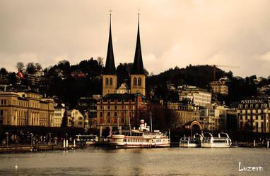 Luzern, Switzerland by Pink-label