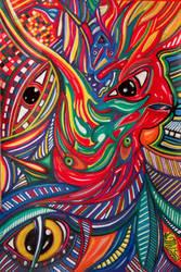 Bird Man by Stepbeyond