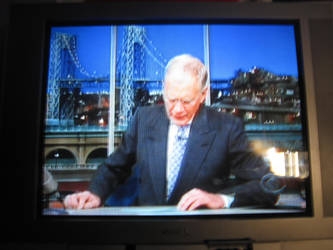 Late Show with David Letterman by EspioArtwork