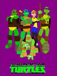 TMNT 2012 Bitmap Speedcolor Cover by EspioArtwork