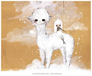 Snow Companion by j-b0x