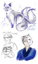 Fox boy by Darkwulfe