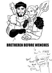 DA2: BRETHEREN BEFORE WENCHES by Darkwulfe