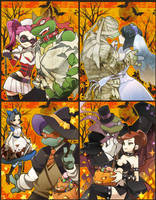 TMNT Halloween by bnob