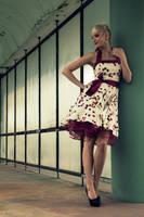 Pin Up Rockabilly Lady by KaylaDavion