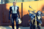 Biker Girls Aprilla by KaylaDavion
