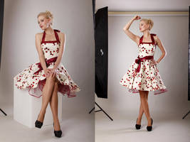 Cherry Pin Up - Front by KaylaDavion