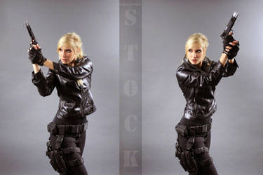 Agent Olesia Anderson Stock by KaylaDavion
