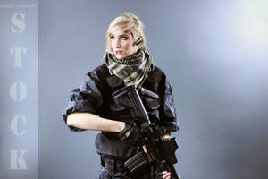 Agent Olesia Anderson Stock 4 by KaylaDavion