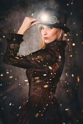 Miss Steampunk by KaylaDavion