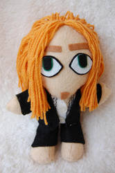 Tim Minchin Ginge Plushie Doll by badhairday24