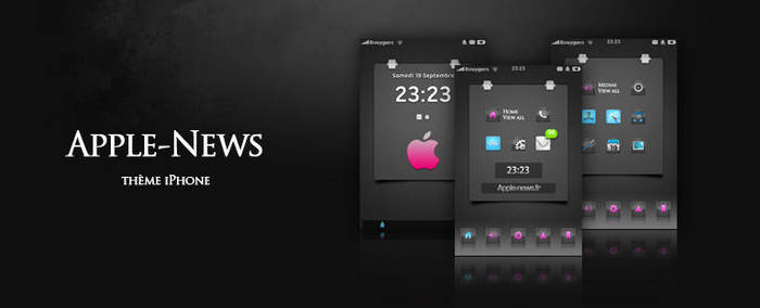 Apple-News theme iPhone by alxboss
