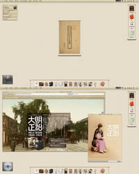 meiji taisho desktop by alxboss