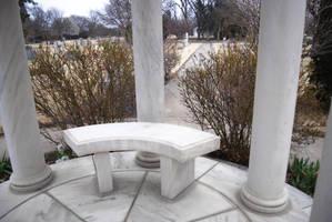 Cemetery: Marble Gazebo 1 by Stock-by-Kai