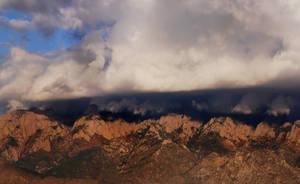 Sandia Mountain by Stock-by-Kai