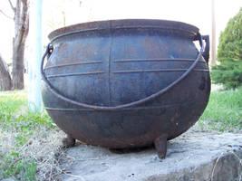Old Cauldron by Stock-by-Kai