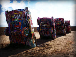 Cadillac Ranch 1 by Stock-by-Kai